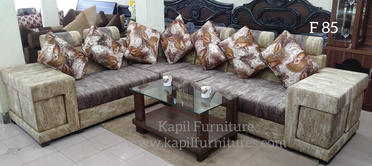 sofa, couch, corner, l shaped, fiber, cloth, foam, stool, living room, sitting, guest, rest, interior, design, designer, home, decor, architecture, furniture